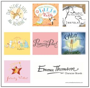 Emma Thomson Childrens Book Character Brands